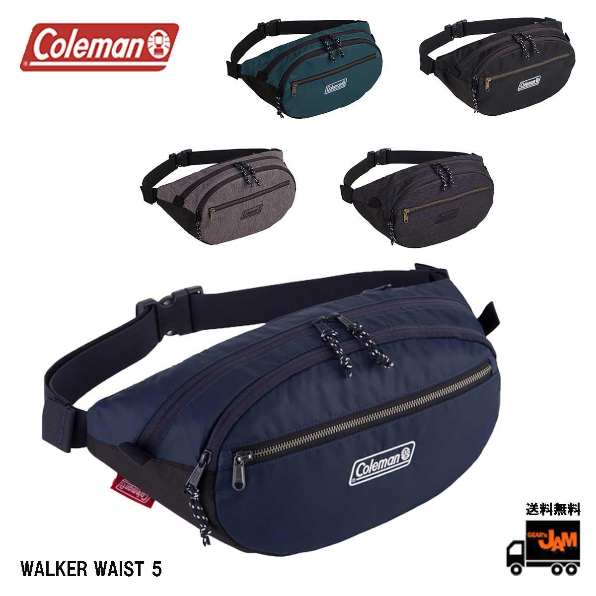 Coleman コールマン WALKER WAIST 無料 5 ウォーカーウエスト5 アウトドア ヒップバッグ 送料無料 レディース ウエスト セール ボディ 5L メンズ