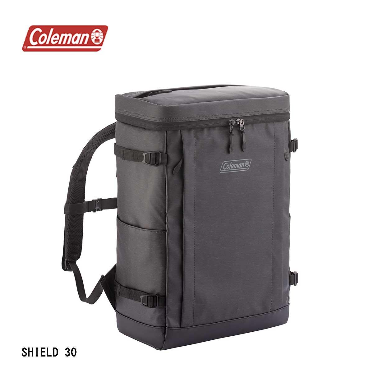 Coleman コールマン 大決算セール SHIELD30 シールド30 アウトドア ヘザーブラック リュックサック リュック 防水 送料無料 30L メンズ デイパック 撥水 耐水 秀逸 レディース