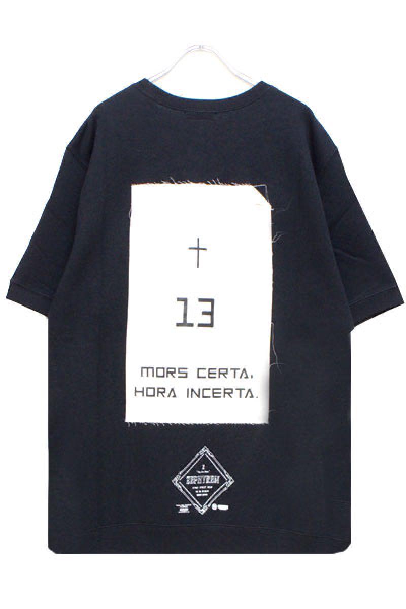 Zephyren(ゼファレン) S/S SWEAT - Monolith - BLACK