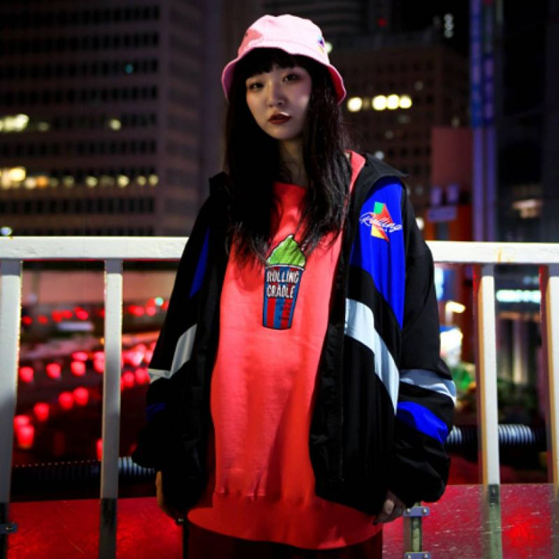 ROLLING CRADLE ICEE SWEAT / RED