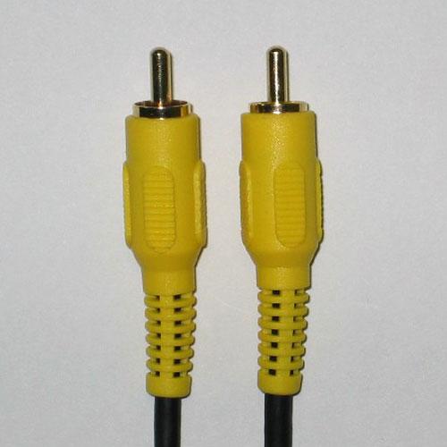 ※訳あり理由 日本正規品 = ケーブルに1mm幅の傷がついています 訳あり 太 ビデオケーブル 10m 映像用 メール便ご利用で 3C-2VS相当ケーブル 日本全国どこでも 1本 4110-10A 捧呈 黄1P金色メッキ