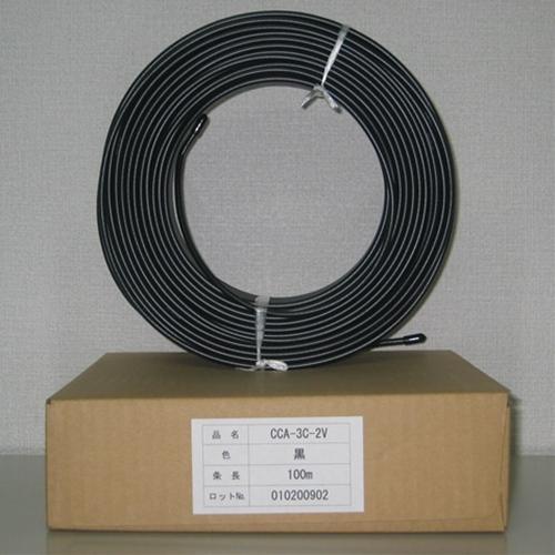 3C-2V 15m 送料299円(税込)同軸ケーブル 信頼の国内メーカー製!編組銅覆アルミ線 メール便ご利用で!黒色 1巻 K3C2V-15