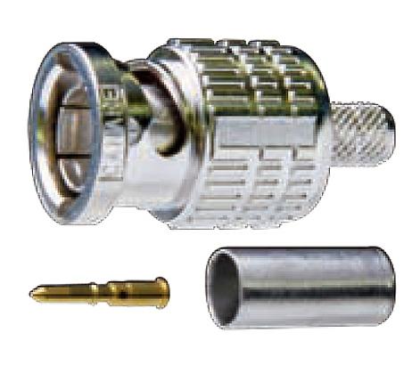 BCP-A5 100ヶ 1ヶあたり¥196(税別)!! カナレ電気製 75Ω BNCコネクタ接栓 圧着式