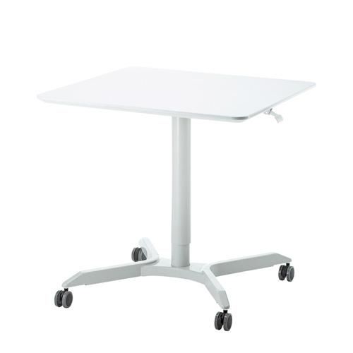 【アウトレット】昇降デスク(ミーティング・テーブル・四角天板) サンワサプライ ERD-MTGGS800W