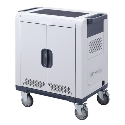 ノートパソコン タブレット保管庫 24台収納 AC充電 【代引き不可商品】 CAI-CAB48 サンワサプライ