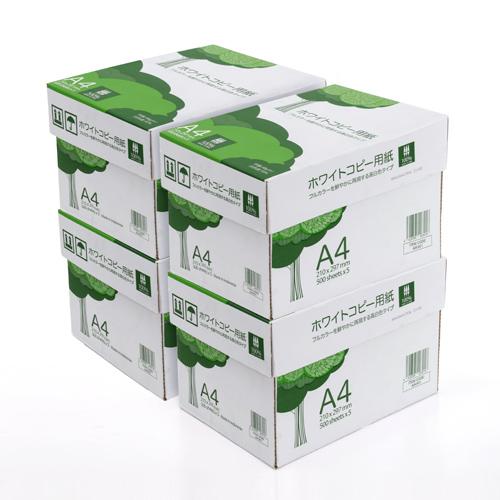 コピー用紙 A4 10000枚 500枚×20冊 大容量 高白色 PPC 300-CP1A4-4 サンワサプライ