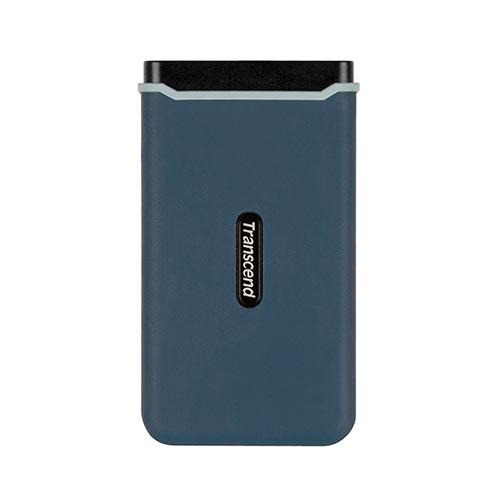外付けSSD 960GB USB3.1 Gen2 コンパクト 耐衝撃 長期保証 トランセンド TS960GESD350C