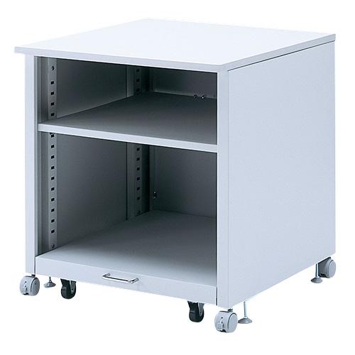 【訳あり 新品】プリンタスタンド(レーザープリンタ対応・高さ70cm・プリンタ台・テーブル・ワゴン・収納・キャスター付き) サンワサプライ LPS-T108N ※箱にキズ、汚れあり