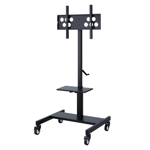 テレビスタンド テレビ台 キャスター 移動式 昇降 高さ調整 棚 角度調節 32型から52インチ CR-PL25BK サンワサプライ