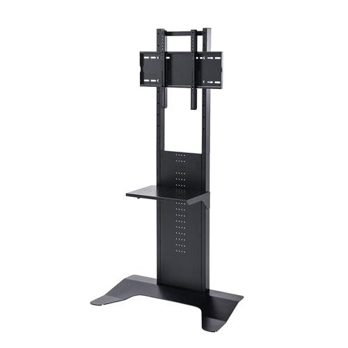 テレビスタンド テレビ台 壁寄せ 置き型 縦置き 高さ調整 棚 32から65インチ対応 ブラック CR-PL33BK サンワサプライ