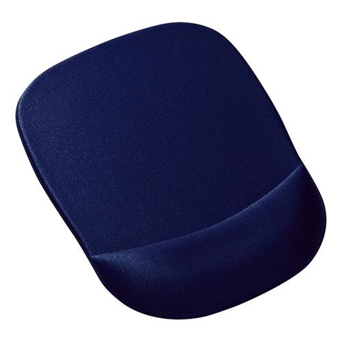 【訳あり 新品】 低反発リストレスト付きマウスパッド ブルー MPD-MU1NBL サンワサプライ