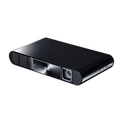 【訳あり 新品】 モバイルプロジェクター HDMI typeC対応 フルHD モバイルバッテリー内蔵 700ルーメン PRJ-7 サンワサプライ