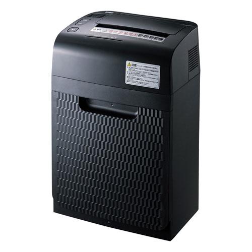 オートフィードシュレッダー マイクロカット 150枚細断 60分連続使用 CD/DVD対応 A4 PSD-MAF150 サンワサプライ