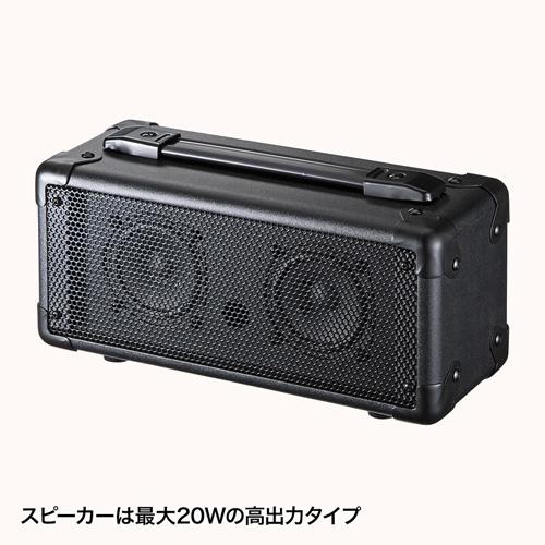 マイク付き拡声器スピーカー MM-SPAMP サンワサプライ