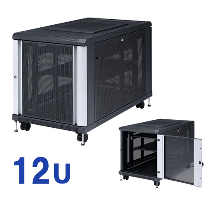 19インチマウントサーバーラック 12U CP-SVC12U サンワサプライ