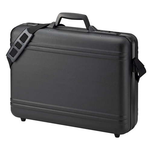 【訳あり 新品】ハードPCケース(17インチワイドまで対応・鍵付き・ブラック) BAG-715N2 サンワサプライ ※箱にキズ、汚れあり