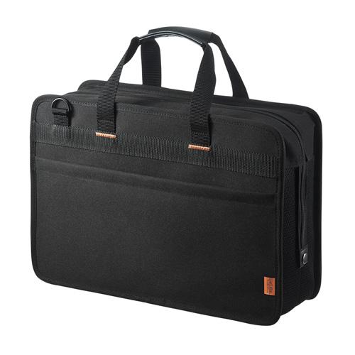 らくらくタブレットバッグ 5台収納 12.5インチ 鍵付き ブラック BAG-BOX5BKN サンワサプライ