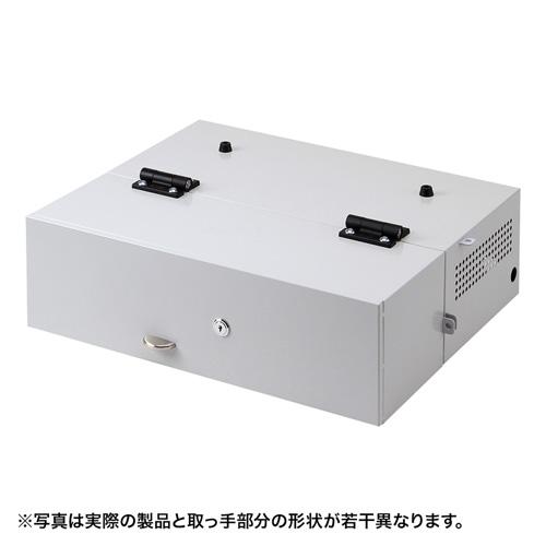 【訳あり 新品】ノートパソコンセキュリティ(収納BOXタイプ・防犯対策・盗難防止) SL-70BOX サンワサプライ ※箱にキズ、汚れあり