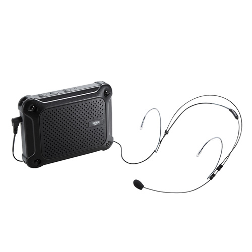 拡声器スピーカー ハンズフリー 防水 小型 軽量 クリップ付 MM-SPAMP6 サンワサプライ