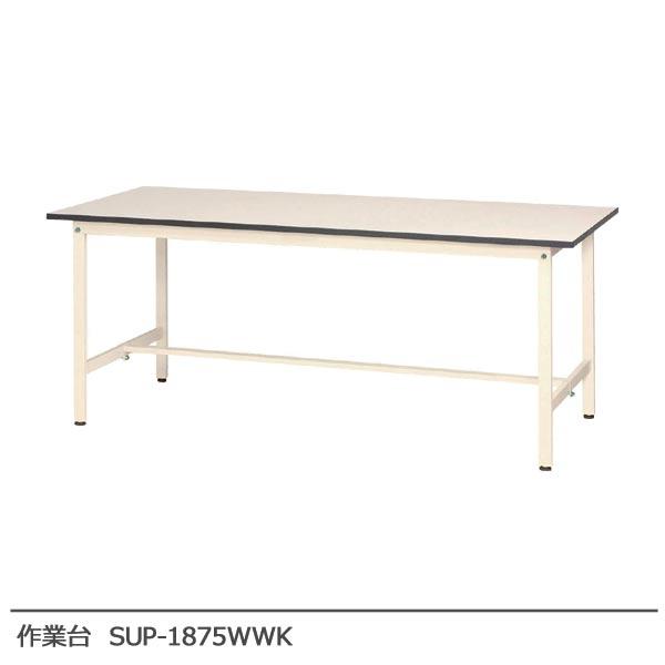 【送料無料】 作業台 SUP-1875WWK オフィス家具 会議テーブル テーブル