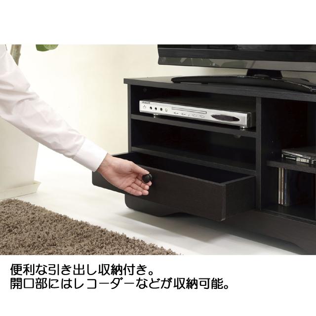 DVD収納 収納家具 TVS-9029 【送料無料】 テレビ台 TV台 テレビボード リビングボード CD収納