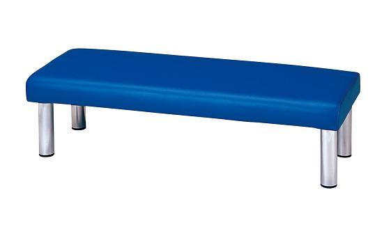 【ロビー用チェア】 【送料無料】 木曽(背なし1500・インディゴブルー) [21772]   送料無料
