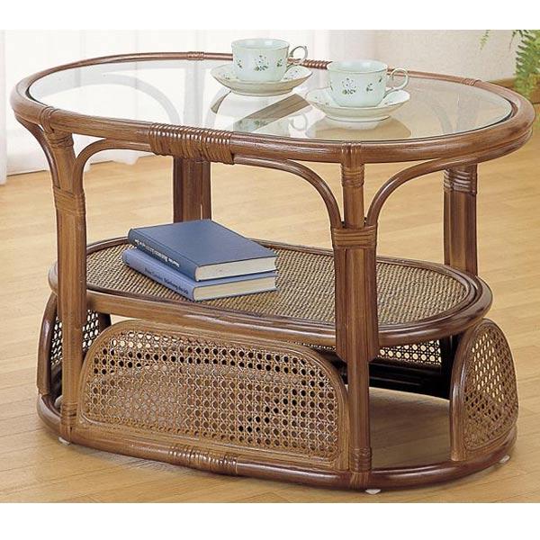 【送料無料】テーブルD-T-470B-I【籐家具・テーブル】  送料無料