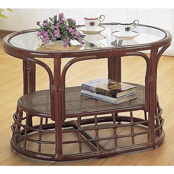 【送料無料】テーブルD-T-450B-I【籐家具・テーブル】  送料無料