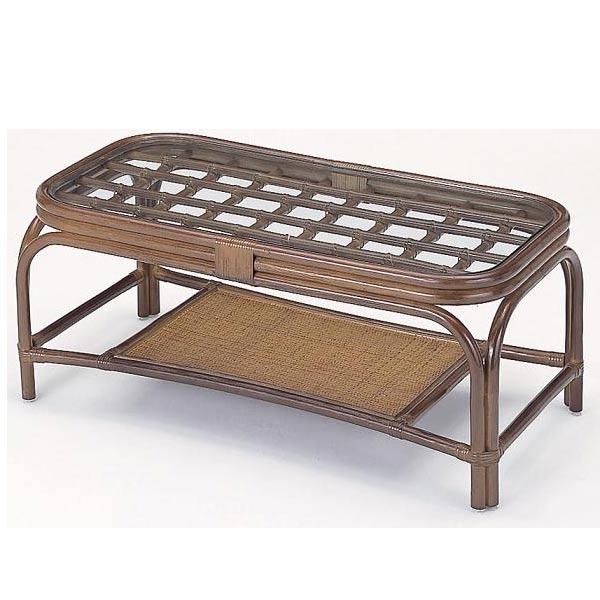 【送料無料】籐テーブルD-T-705B-I 【籐家具・テーブル】  送料無料