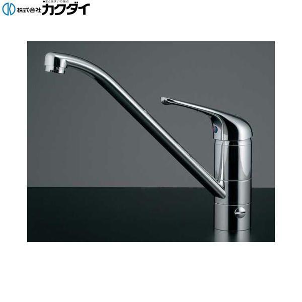 カクダイ[KAKUDAI]シングルレバー混合栓(分水孔つき)117-031[送料無料]