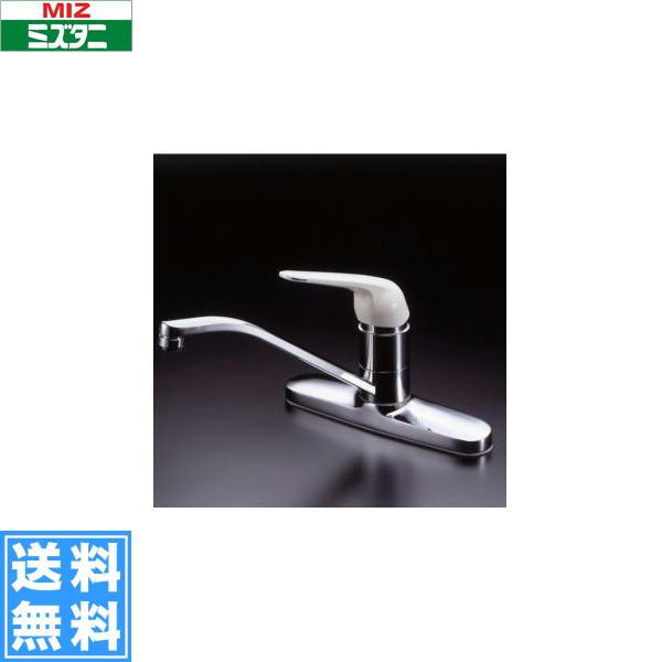 ミズタニバルブ[MIZUTANI]台付シングルレバー混合栓[K13-796シリーズ]K13-796WTU[一般地仕様]【送料無料】