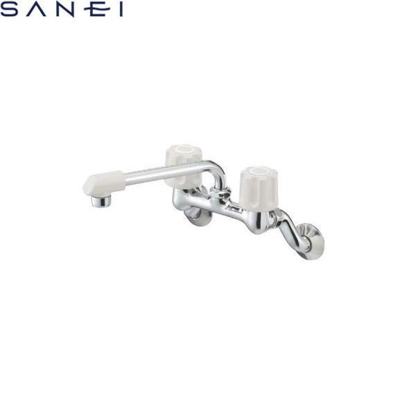 三栄水栓[SAN-EI]ツーバルブ混合栓K21DK-LH[寒冷地仕様]【送料無料】