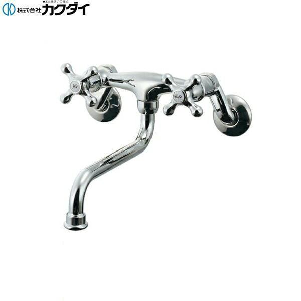 [122-007]カクダイ[KAKUDAI]2ハンドル混合栓[送料無料]