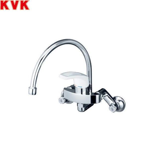[KM5000SS]KVKシングルレバー混合水栓[一般地仕様][スワン型パイプタイプ][送料無料]