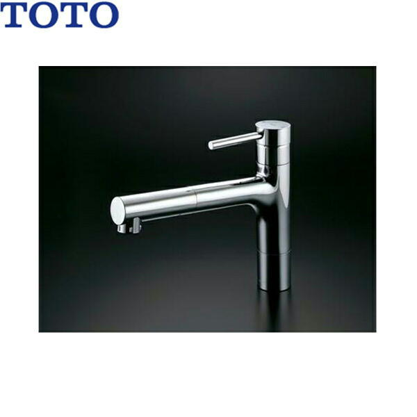 [TKC32CES]TOTOシングル混合水栓[台付き1穴]ハンドシャワー・吐水切り替えタイプ[送料無料]