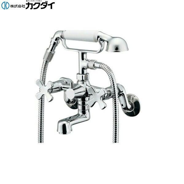 [133-505]カクダイ[KAKUDAI]2ハンドルシャワー混合栓[送料無料]