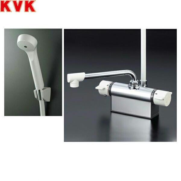 KVKデッキ形サーモスタット混合水栓KF801[一般地仕様]【送料無料】