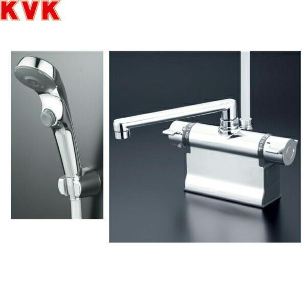 KVK浴室用水栓デッキ型サーモスタット式シャワーKF3011ZTS2[寒冷地仕様]【送料無料】