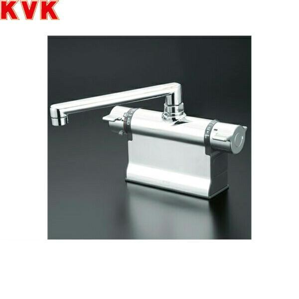 KVK浴室用水栓デッキ形サーモスタット式混合栓KM3011T[一般地仕様]【送料無料】