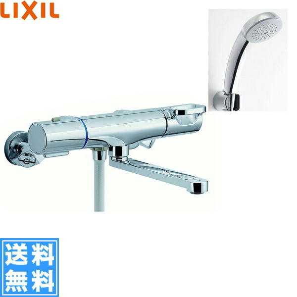 [BF-WM145TSC]リクシル[LIXIL/INAX]シャワーバス水栓[サーモスタット][エコフルスプレーシャワー(メッキ仕様)][一般地仕様]【送料無料】