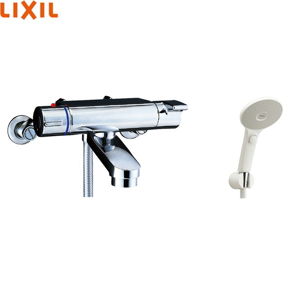 [BF-2147TKSJM]リクシル[LIXIL/INAX]シャワーバス水栓[サーモスタット][エコアクアスイッチシャワー(めっき仕様)][一般地仕様][送料無料]