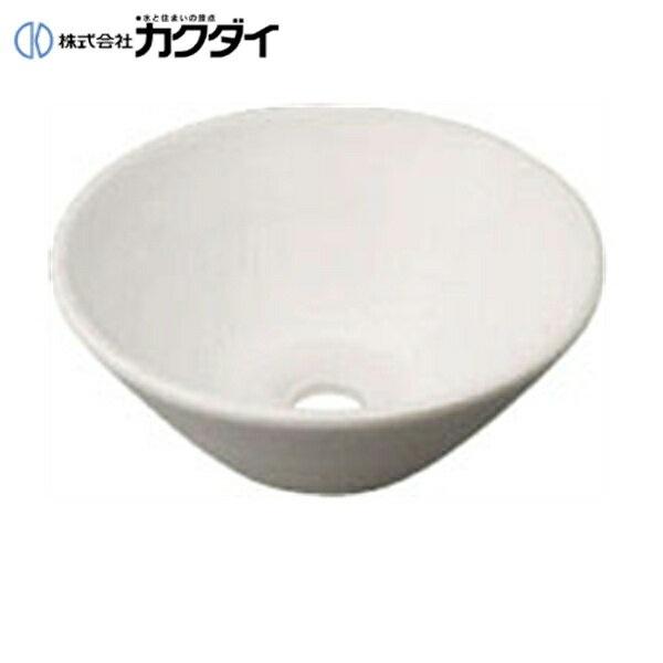 カクダイ[KAKUDAI]丸型手洗器493-011-W(月白)