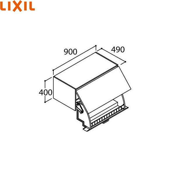 リクシル[LIXIL/INAX][PIARAピアラ]アッパーキャビネットAR1U-905W[間口900mm]【送料無料】