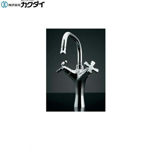 カクダイ[KAKUDAI]2ハンドル混合栓//トール150-416[送料無料]