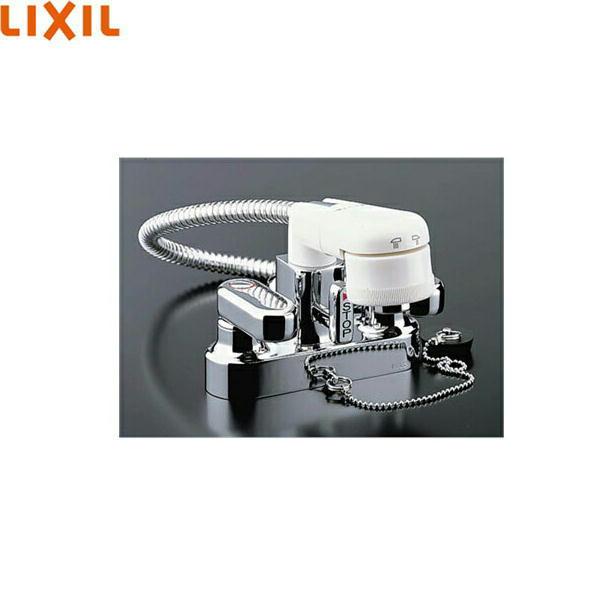 送料込 INAX-SF-25D リクシル LIXIL INAX 期間限定今なら送料無料 簡易洗髪シャワー混合栓 送料無料 SF-25D 特価品コーナー☆ 2ハンドル混合水栓