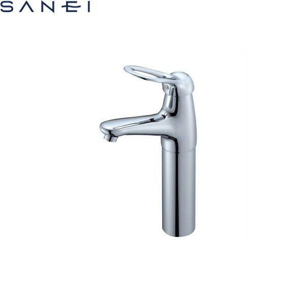 三栄水栓[SAN-EI]シングルワンホール洗面混合水栓K4770NJK-2T[寒冷地仕様][送料無料]