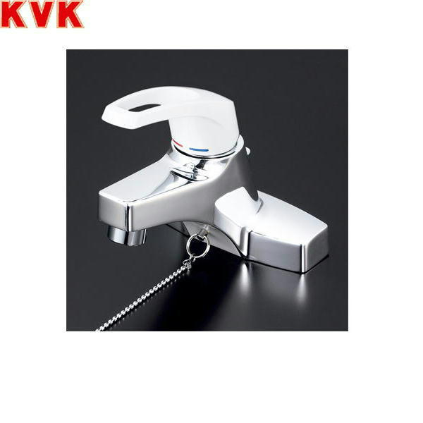 [KM7014ZT2]KVK洗面用シングルレバー混合水栓[寒冷地仕様][ゴム栓付][送料無料]