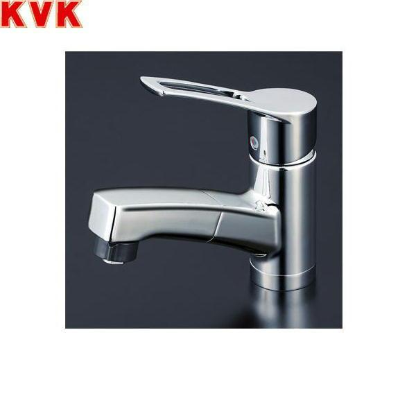 [KM8001TF]KVK洗面用シングルレバー式シャワー混合水栓[一般地仕様][送料無料]
