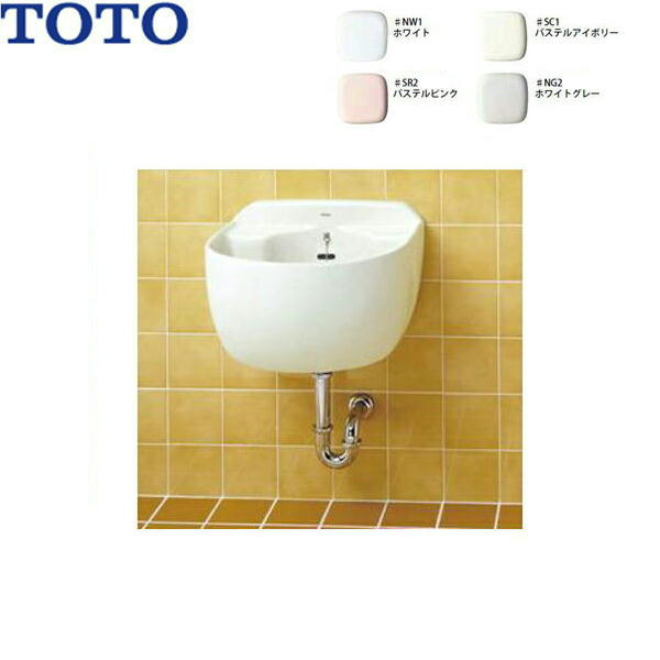 【フラッシュクーポン!6/1~6/7 AM9:59】[SK507+T9R+T8C+TK40P]TOTO洗濯流し[大形][壁排水セット][水栓なし]【送料無料】