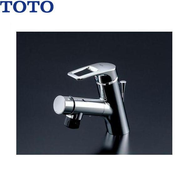 [TLN32TEFR]TOTOシングル混合混合水栓[台付き1穴]タッチスイッチ・ホース付きタイプ[送料無料]